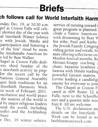Chapel WIHW Article '10